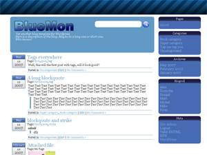 bluemon-wordpress-theme
